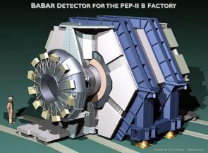 BaBar detector image