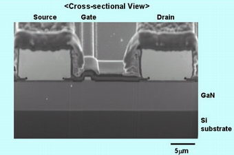Panasonic Develops A New Gallium Nitride Power Transistor with Normally-off Operation