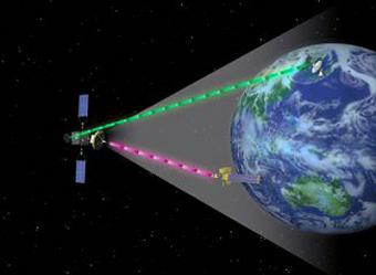 ESA and JAXA satellites 'talk' to each other