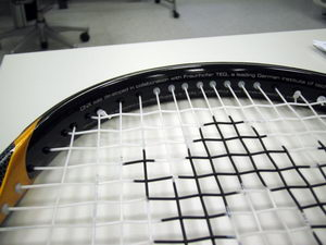Reinforced racquets and heated wallpaper