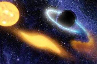 NASA Telescope Sees Black Hole Munch on a Star