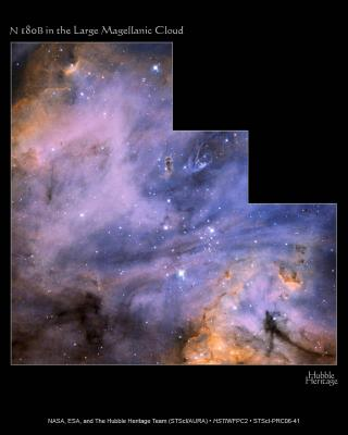 Wispy Dust and Gas Paint Portrait of Starbirth