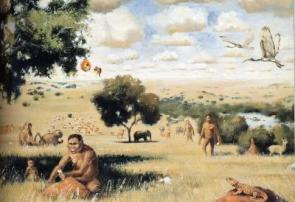 Paranthropus on Plains