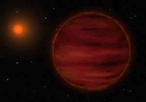 New Brown Dwarf in the Solar Neighbourhood (Artist's Impression)