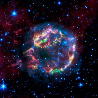 Spitzer Peels Back Layers of Star's Explosion