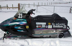 Utah State University Electric Snowmobile