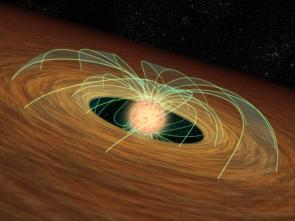 Planet-Forming Disks Might Put the Brakes on Stars