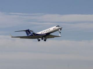 The new Gulfstream V research aircraft