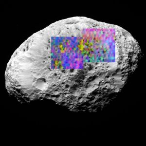 Cassini Finds Hydrocarbons on Saturn's Moon Hyperion