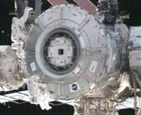 Expedition 16's First Spacewalk Complete