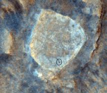 HiRISE Camera Views the Mars Rover 'Spirit' at 'Home Plate'