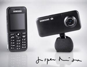 Samsung Unveils SGH-E590 Designed by Jasper Morrison