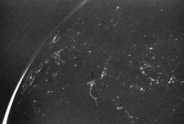 The Moon and Europe -- Rosetta OSIRIS images