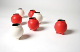 Vases from Industrial Tubes