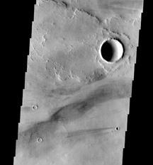 Mars image marks THEMIS milestone