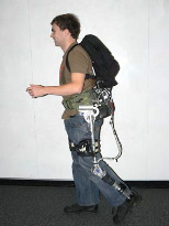 21st-century pack mule: MIT's 'exoskeleton' lightens the load