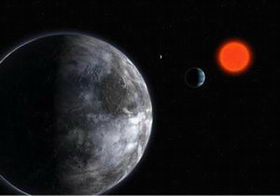 Planetary System Around Gliese 581
