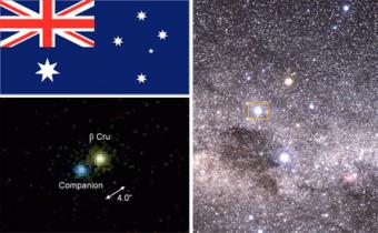 Astronomers Discover New Star in Southern Cross
