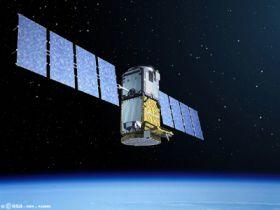 Artist's impression of GIOVE-B in orbit
