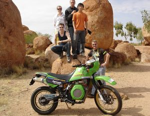 Biodiesel bike wins for least carbon emissions