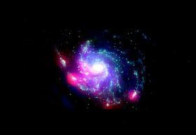 Akari's observations of galaxy M101