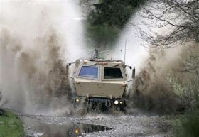 Army Tests High-Tech Concept Vehicles (AP)