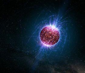 Artist's Illustration of an 'Isolated Neutron Star'