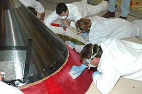 Atlantis Tank Repairs Under Way
