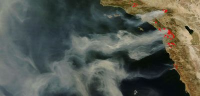 California Wildfires Continue to Grow: NASA Satellite Images Show