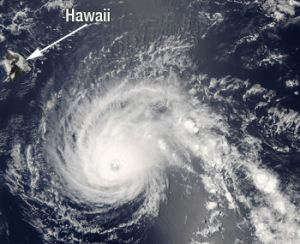 Double Trouble for the Big Island of Hawaii: Flossie and Quakes
