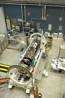ESA's Earth Explorer gravity satellite on show