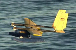 'Flying Fish' unmanned aircraft takes off and lands on water