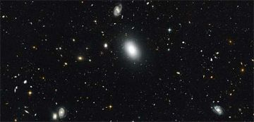 Full-spectrum study of small patch of sky yields portrait of maturing universe