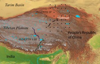 Geologists to test theory that Asia is being 'stuffed' under Tibetan Plateau