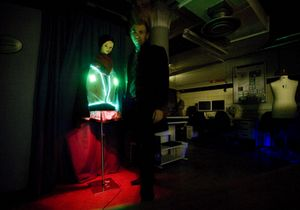 High-tech textiles pave the way for glowing garments