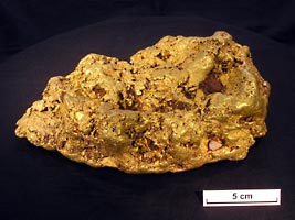 Gold nuggets reveal their inner secrets