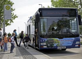Hybrid Bus in the City: A Prototype with a Future