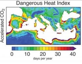 Intensification of Dangerous Heat Stress