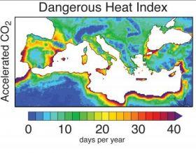 Intensification of Dangerous Heat Stress
