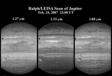 LEISA observes Jupiter