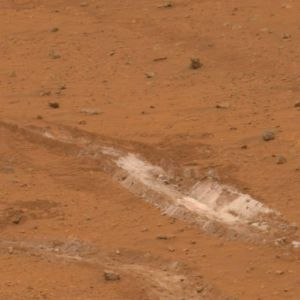 Mars Rover Investigates Signs of Steamy Martian Past