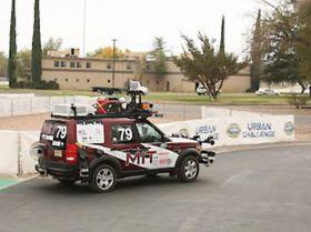 MIT's 'robocar' named a finalist in DARPA Urban Challenge