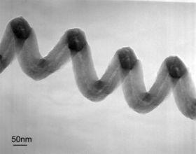 Nanoscale Pasta: Spiral Nanofiber