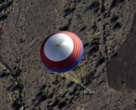 NASA Conducts Second Test of Ares Rockets' Main Parachute