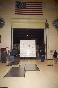 NASA'S Glast satellite arrives at Naval Research Lab for testing