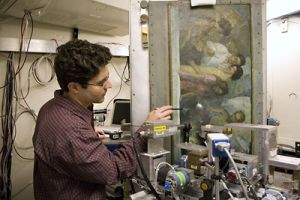 N.C. Wyeth's coloring technique revealed by Cornell's synchrotron as it uncovers eight decades of paint
