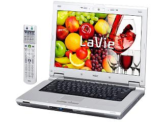 NEC LaVie laptop