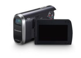 New Concept Video Camera for SDHC Memory Card Recording