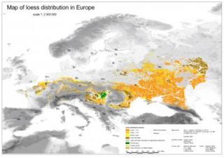 New European loess map