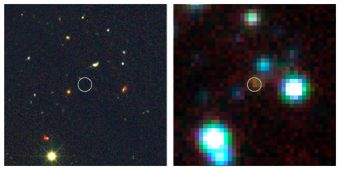 New View of Distant Galaxy Reveals Furious Star Formation